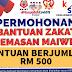 Bantuan Zakat Kecemasan RM 500