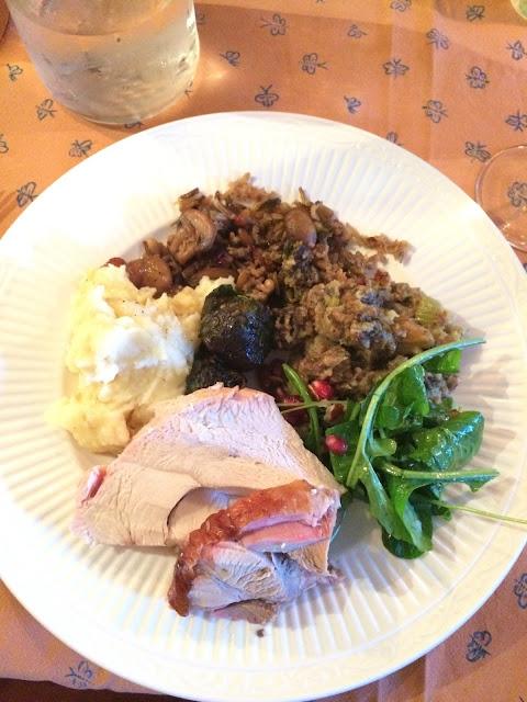 Perinteisiä Thanksgiving-ruokia