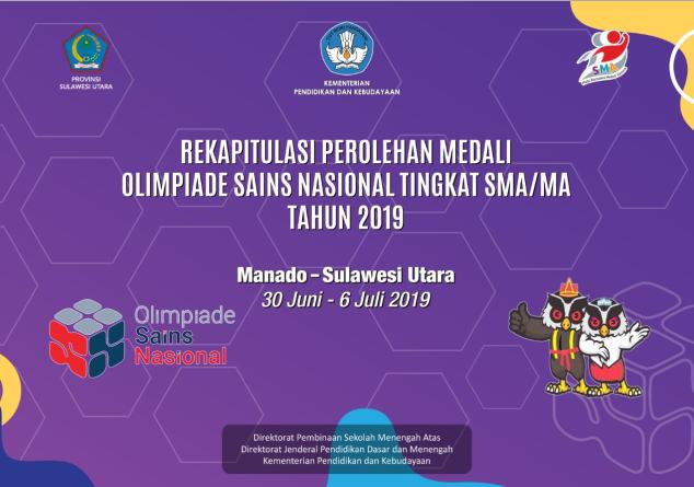 hasil osn sma 2019 medali emas perak perunggu tomatalikuang.com