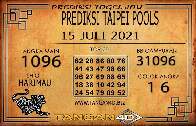 PREDIKSI TOGEL TAIPEI TANGAN4D 15 JULI 2021