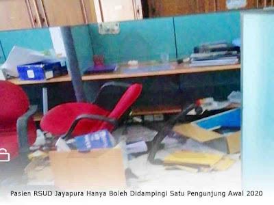 Lukas Enembe Nilai Penjarahan Kantor Gubernur Papua Sudah Terencana