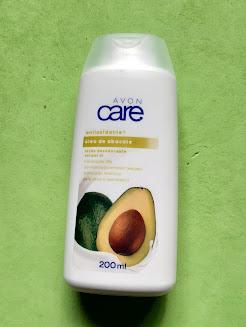 resenha loção hidratante com oleo de abacate avon care