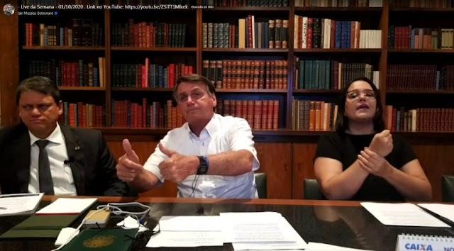 Bolsonaro concorda com reabertura da FRONTEIRA e cogita nova visita à fronteira.