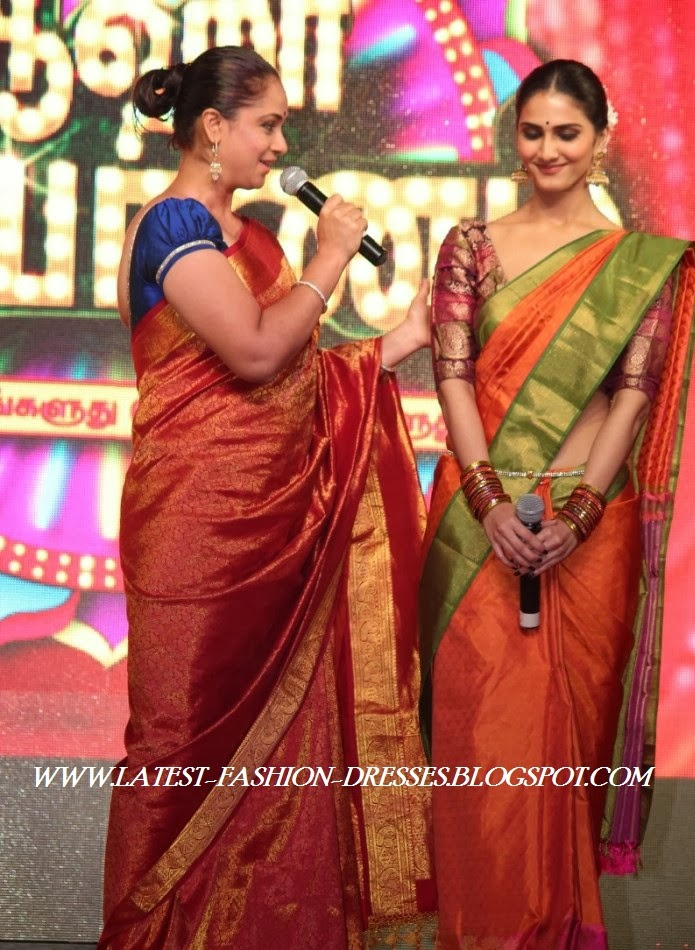 SIMRAN IN SILK SAREE