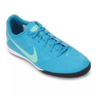 Chuteira Futsal Nike Beco 2 - Azul e Branco