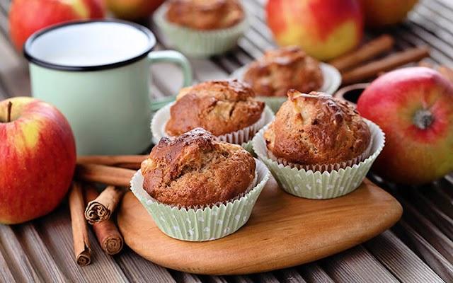 Αφράτα μάφινς με μήλο