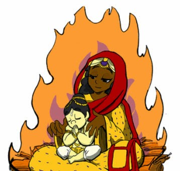 Observe Holashtak and start preparations for Holika Dahan