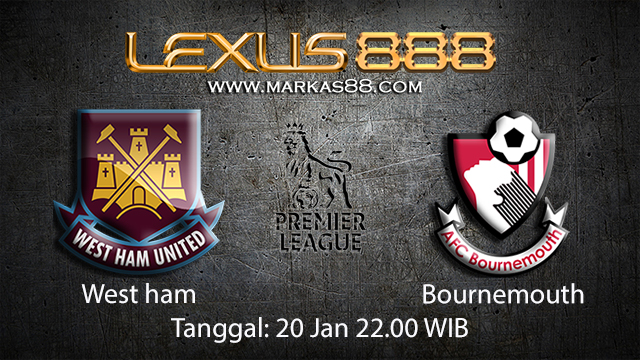 PREDIKSIBOLA - PREDIKSI TARUHAN BOLA WEST HAM VS BOURNEMOUTH 20 JANUARI 2018 ( ENGLISH PREMIER LEAGUE )