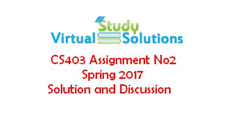cs403 final term paper 2014