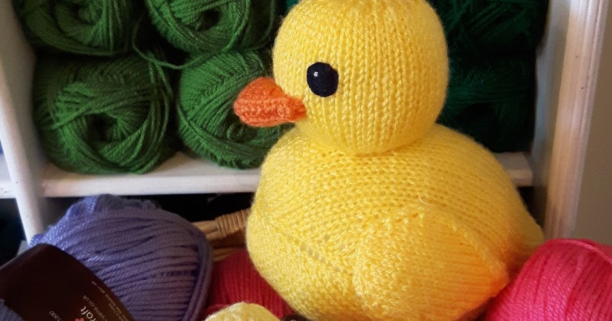 Knit for Victory: Knitted Rubber Ducks