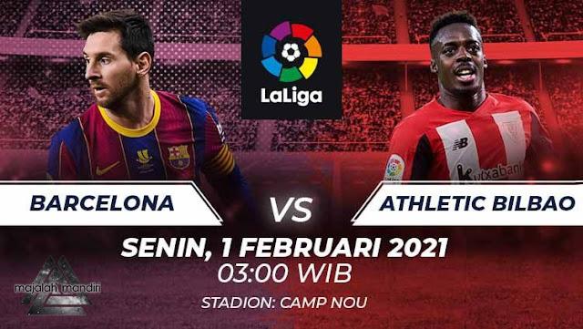 Prediksi Barcelona Vs Athletic Bilbao