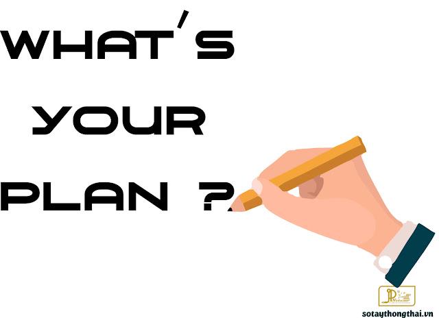 kế hoạch, kế hoạch công việc