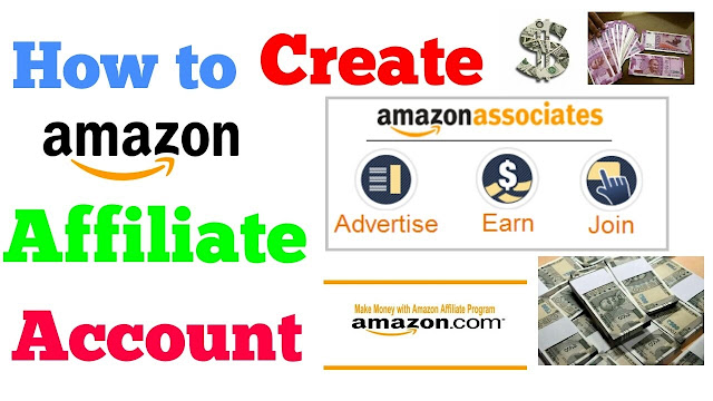 How to create an Amazon Affiliate Account