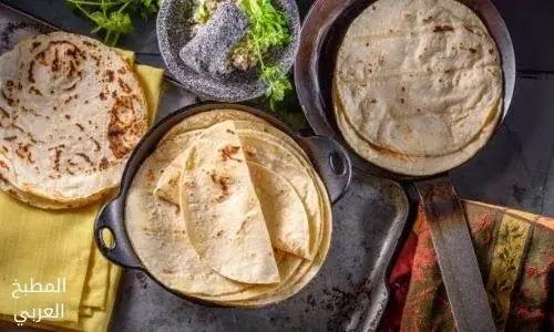 وصفة عجينة خبز الطاكوس لام وليد