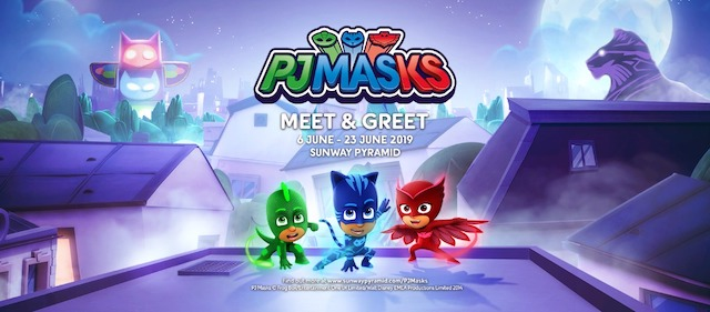 PJ Masks' Heroes @ Sunway Pyramid This School Holidays