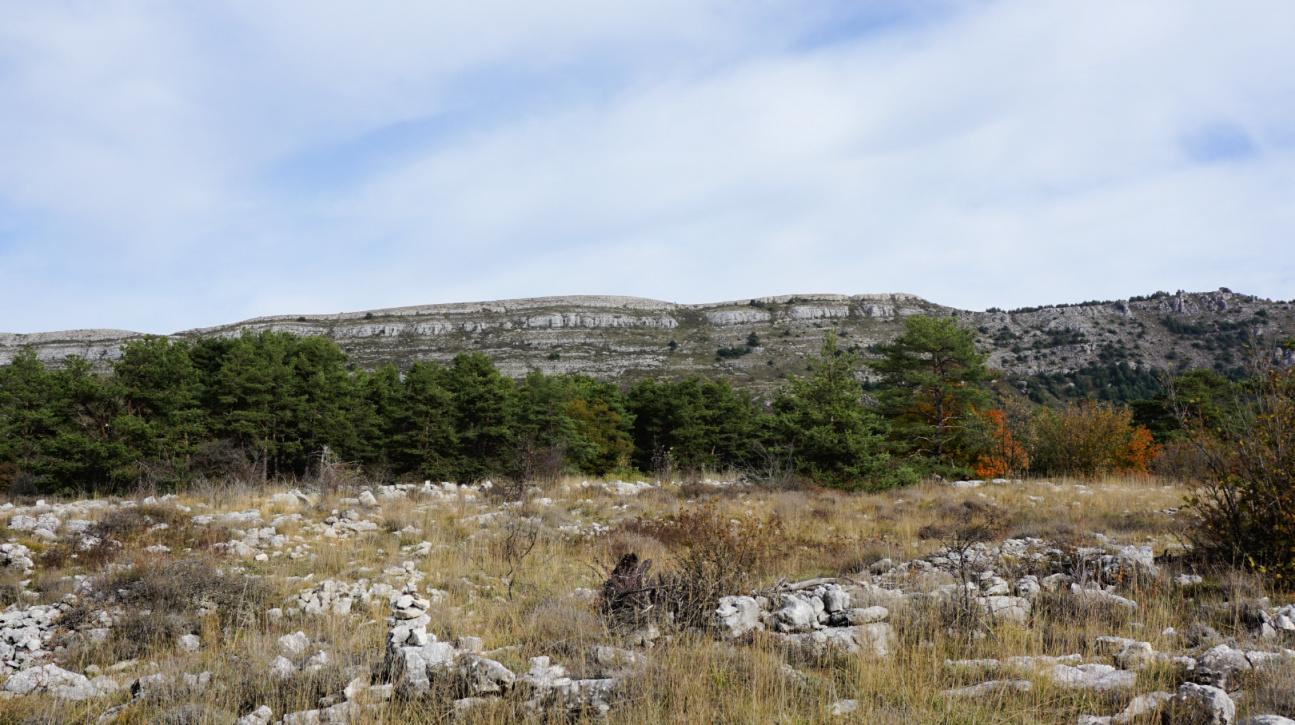 La Colle de Rougiès Ridge