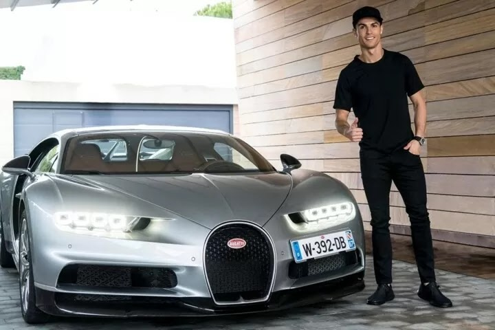 Messi and Rolnaldo:10 most expensive cars owned by football stars