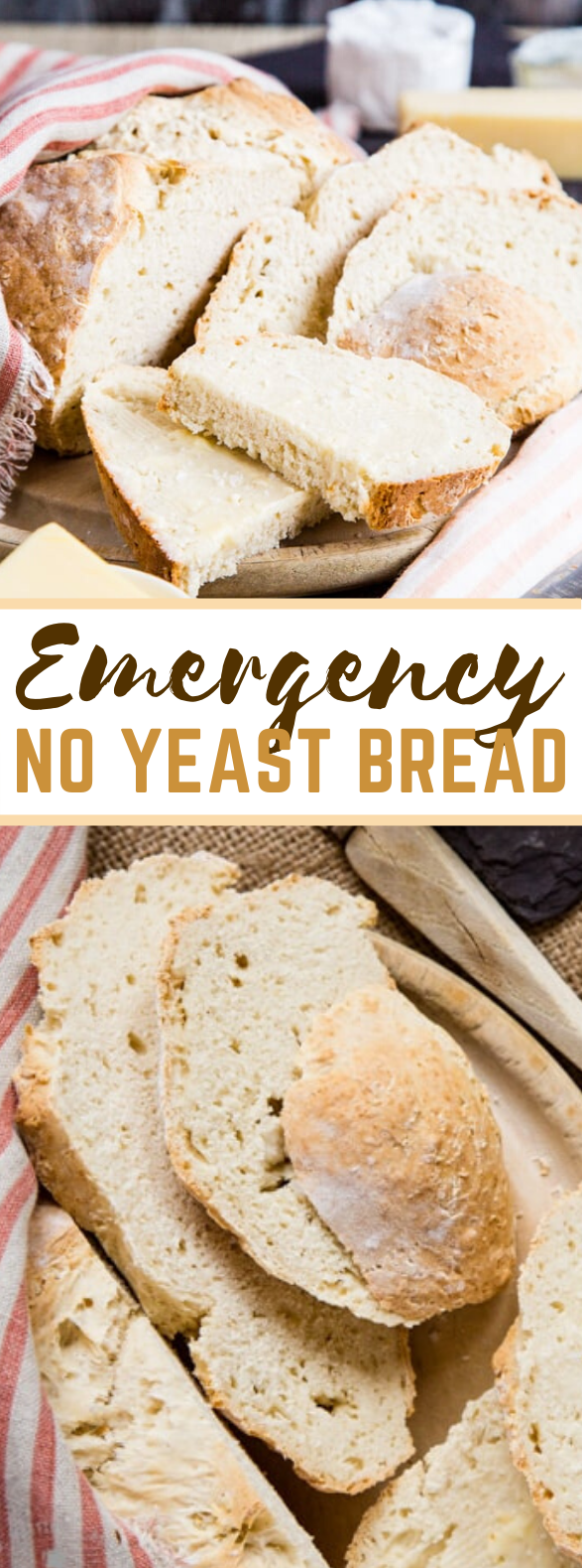 Emergency No Yeast Bread #meals #recipes