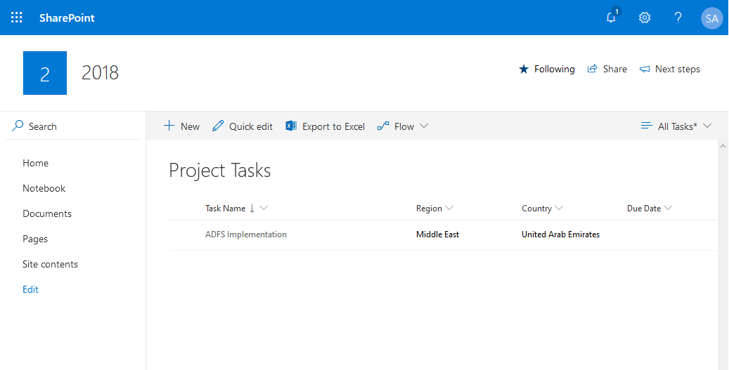 sharepoint online cascading dropdown