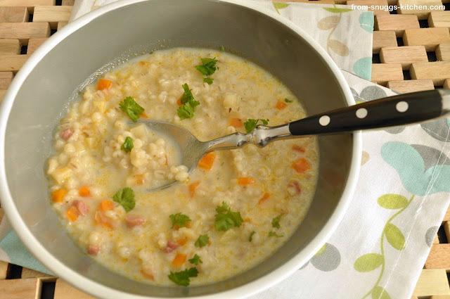 lammsuppe aus knochen