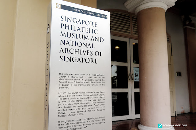 bowdywanders.com Singapore Travel Blog Philippines Photo :: Singapore :: Singapore Philatelic Museum: Want to be a Powerful Philatelist?