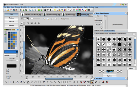 Download Focus Photoeditor 7 Offline Installer
