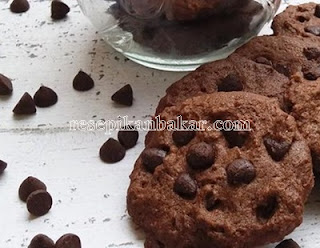 Kue Kering Coklat Crispy