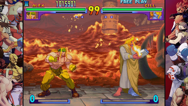 Street Fighter 30th Anniversary Collection - Street Fighter III - New Generation - Alex VS Gill