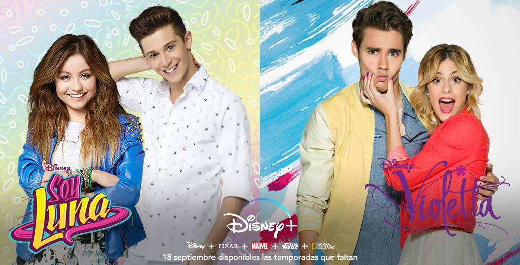 El 18 De Septiembre Llegan Las Temporadas Que Faltan De Soy Luna Y Violetta A Disney España Portal Disney
