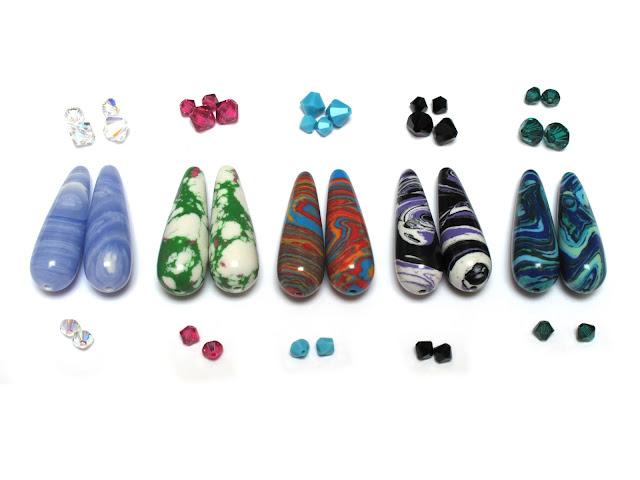 Kies de kleuren voor de oorbellen