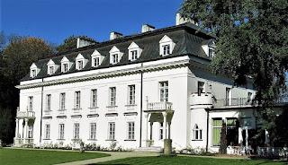 Pałac Radziejowice - elewacja ogrodowa
