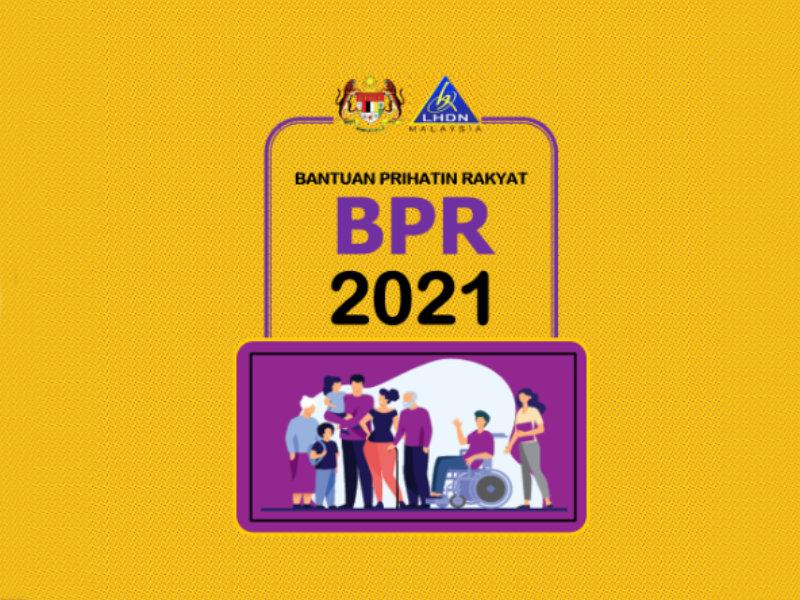 Permohonan Bantuan Prihatin Rakyat (BPR) 2021 Kini Telah Dibuka