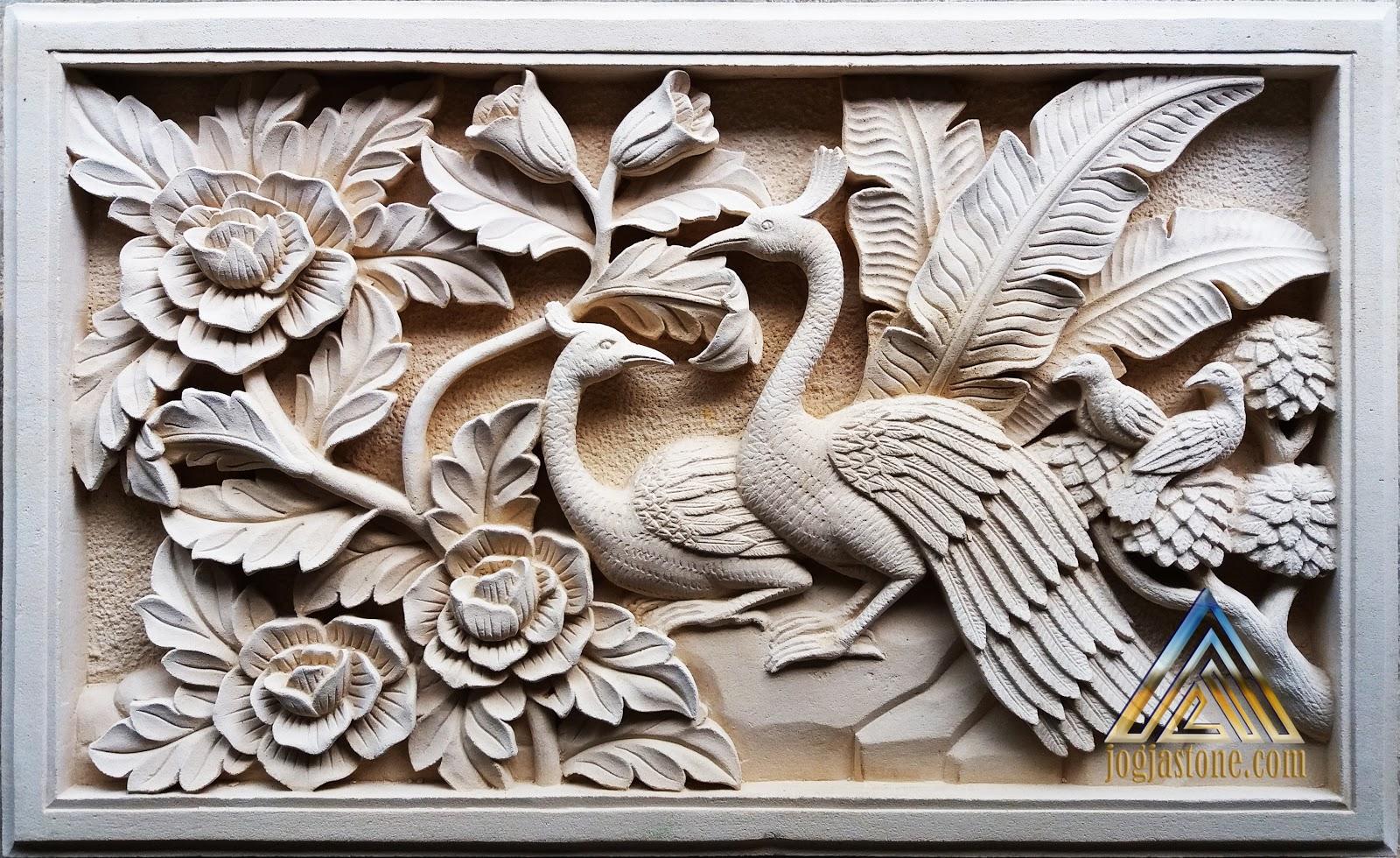 Kaligrafi Burung Merak Nusagates
