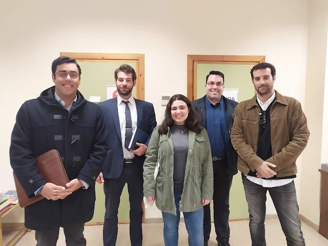 Última reunión con la Facultad de Ciencias Sociales y Jurídicas