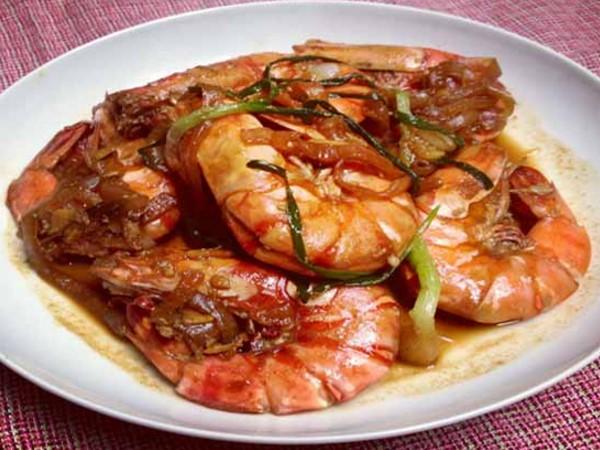 resep udang goreng mentega chinese food, cara membuat udang goreng mentega chinese food