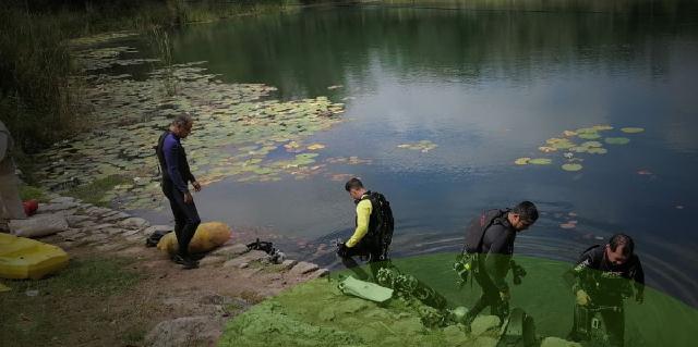 Hallan medidores de la CFE en el cenote Chen Há de Kopomá