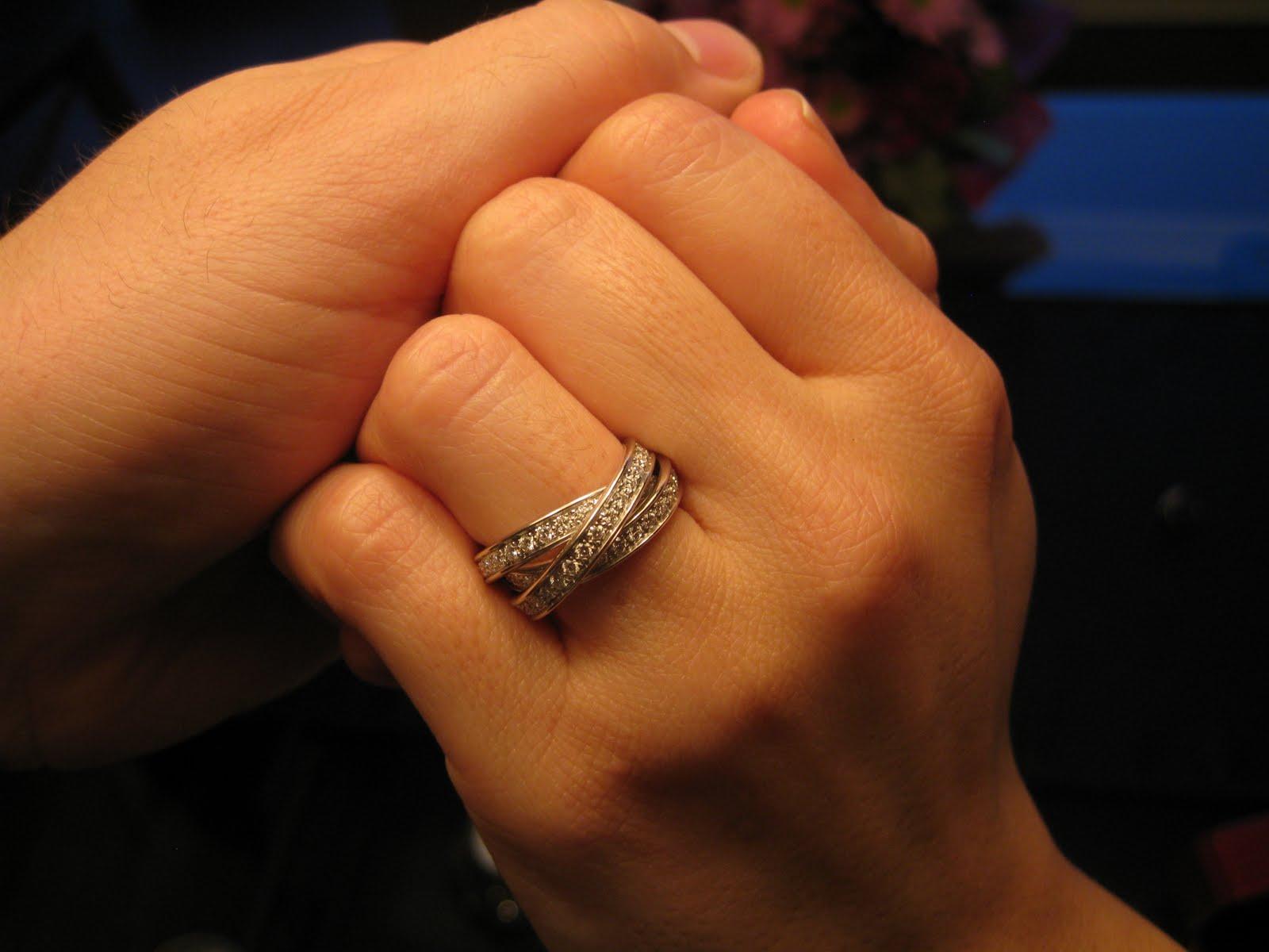 Cartier ring trinity  Teurer Schmuck