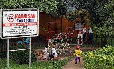 Kampung Bebas Asap Rokok, Cilitan Jakarta | Sumber Foto komunitaskretek or id