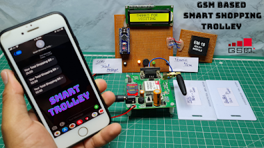 Smart Shopping Trolley with Smart Billing Using Arduino & Gsm Module