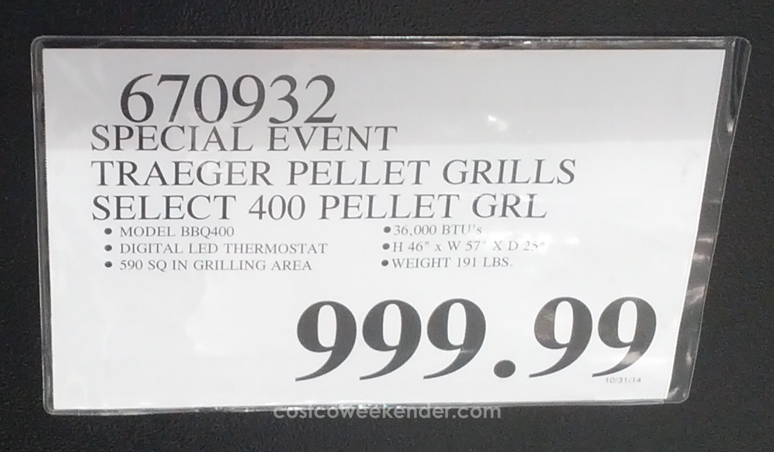 Traeger Smokers At Costco – Wonderful Image Gallery