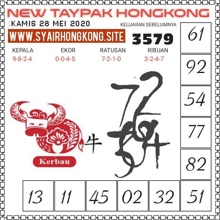 Prediksi Syair HK 28 Mei 2020