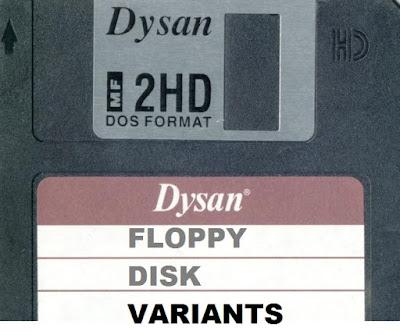 Variations of Floppy Disk