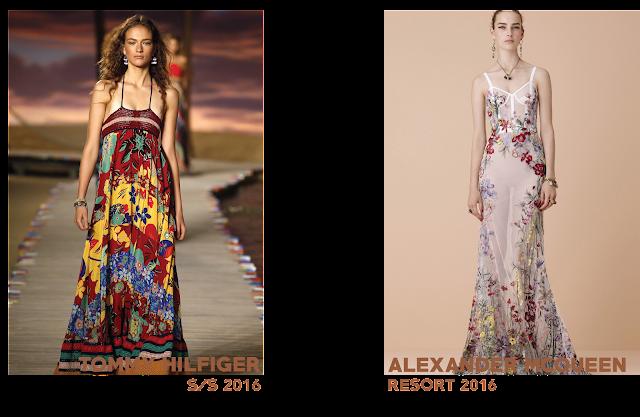 Tommy Hilfiger Alexander McQueen resort 2016 cuba trend floral