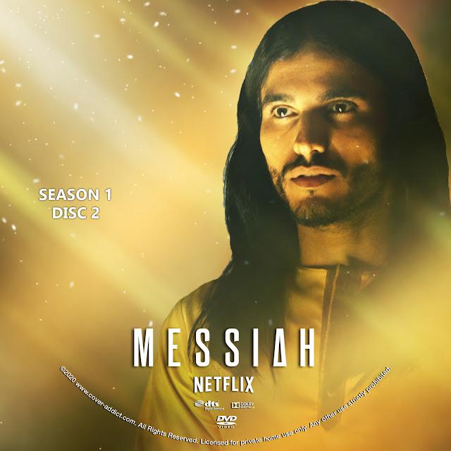 Messiah Season 1 Disc 2 DVD Label