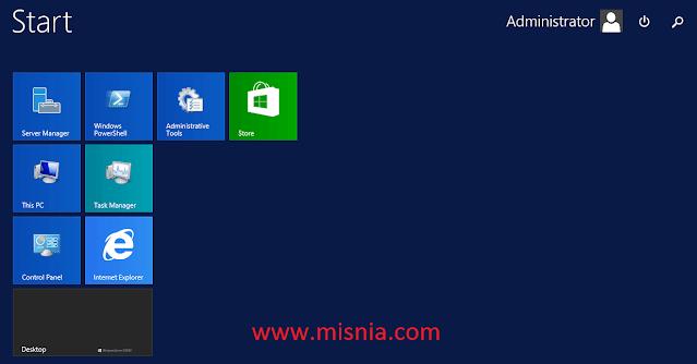 control panel windows server2012
