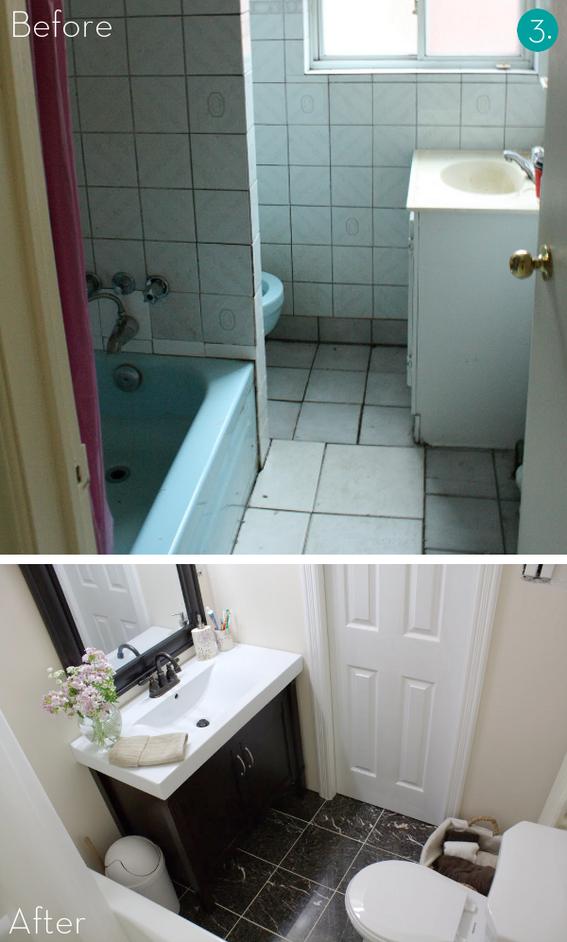 Easy Bathroom Makeover  Home Interior Designs and