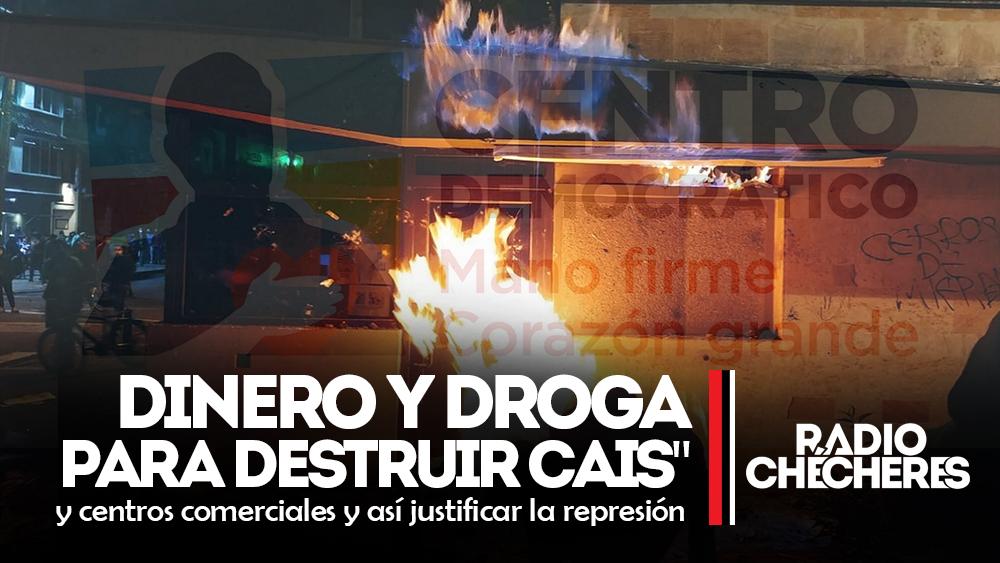 Uribismo está pagando a drogadictos para formar destrucción en Santa Marta