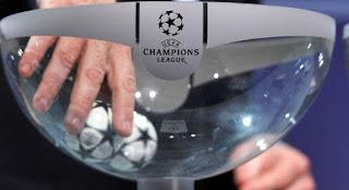 Hasil Undian Babak 16 besar Liga Champions 2017/2018.