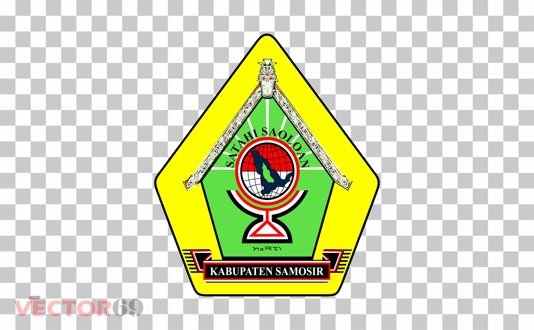 Kabupaten Samosir Logo - Download Vector File PNG (Portable Network Graphics)