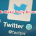 Twitter Par Account Verify Kaise Kare | Blue Tick Kaise Lagaye